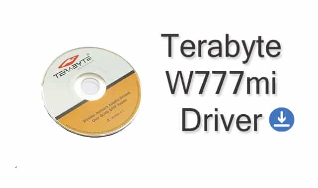 Terabyte W777mi Driver Download