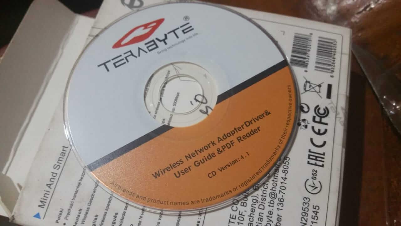 Terabyte W777mi Driver CD