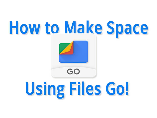 Make Free Space ft. files by Google
