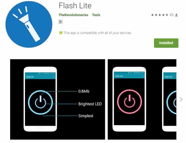 Best Lightweight Android Apps - Flash Lite