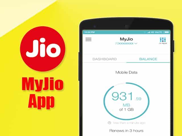 Set Data Usage Alert in MyJio App