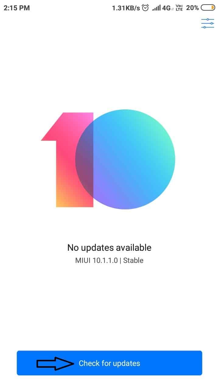 Update Xiaomi Device
