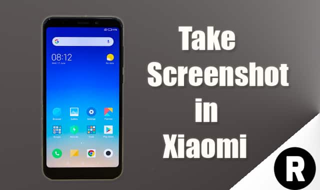 Take Screenshot in Xiaomi Devices