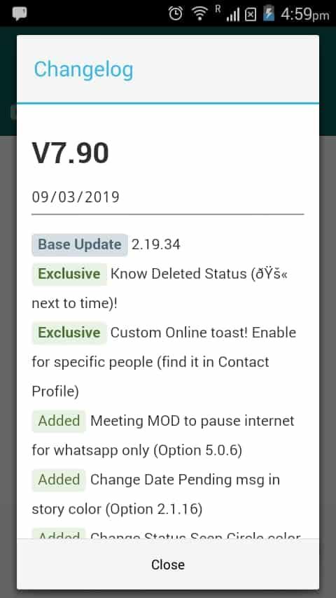 Latest GB WhatsApp Version