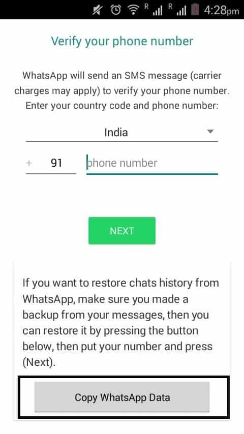 Update WhatsApp to GB WhatsApp