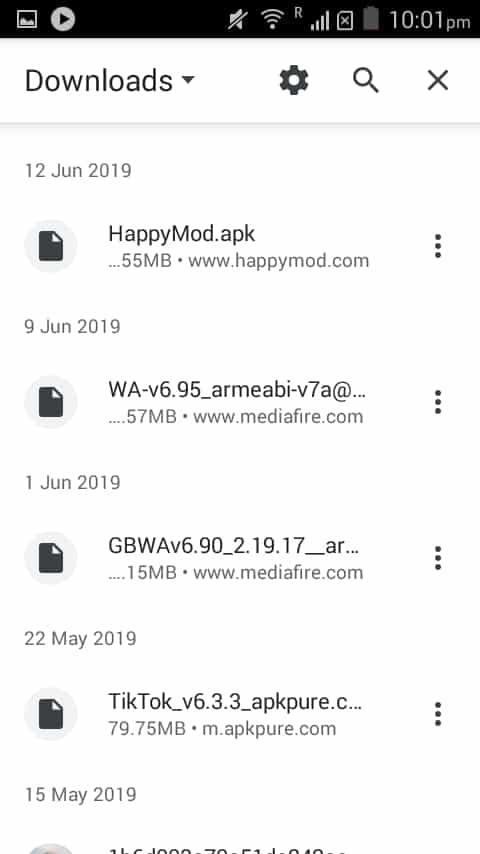 Open Downloaded WhatsApp Plus
