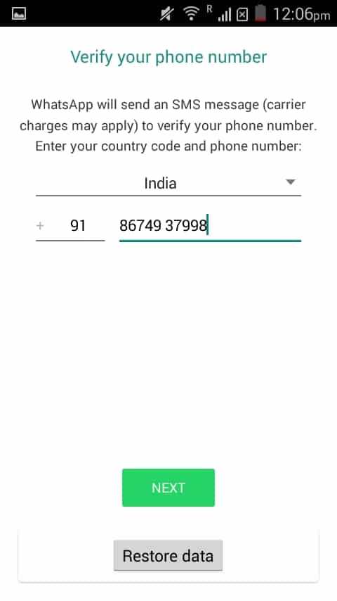 Set up WhatsApp Plus
