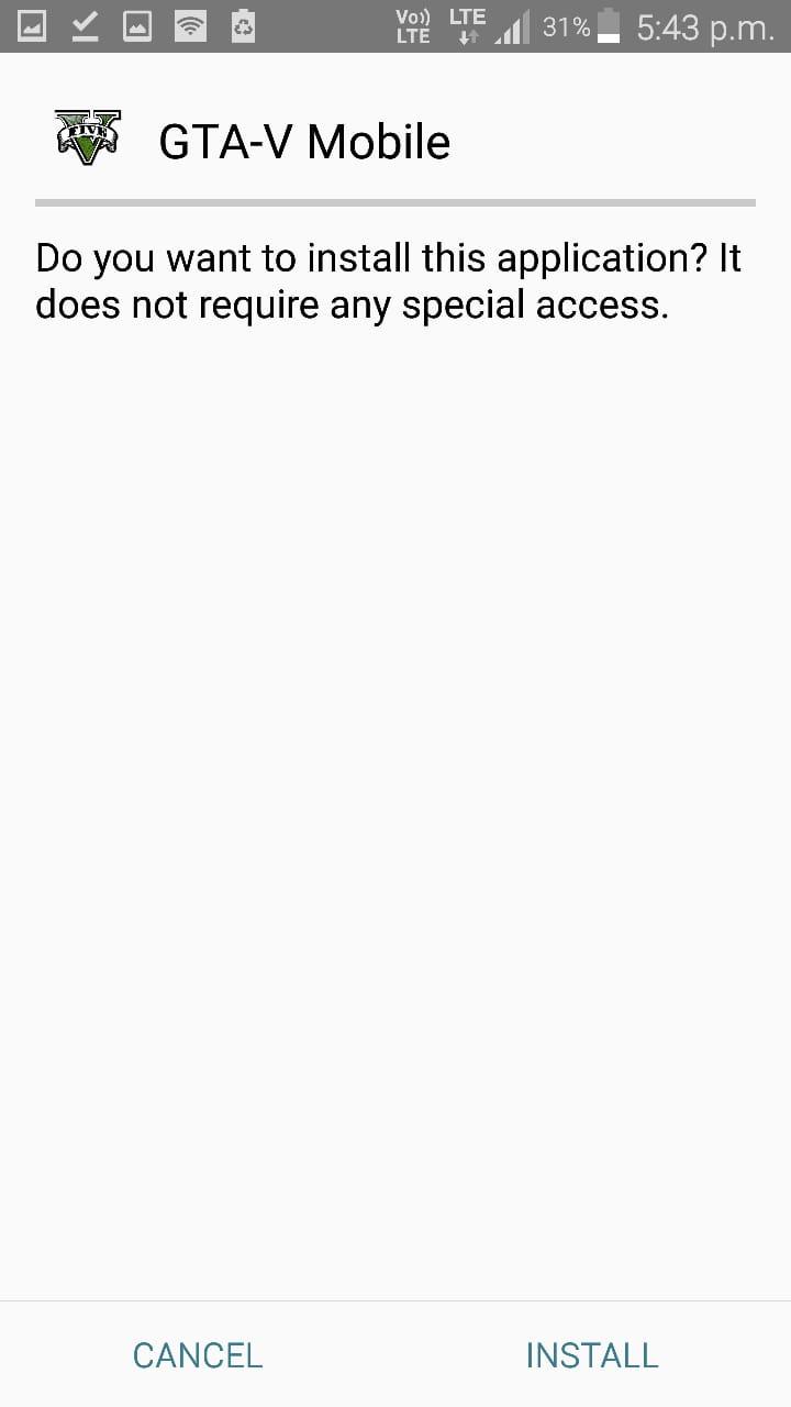 Install GTA 5 Mobile