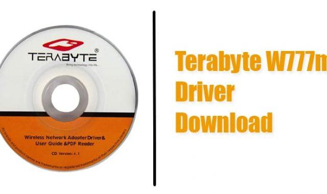 Terabyte W777mi Driver Download for Windows (7/ 8.1/10) Original