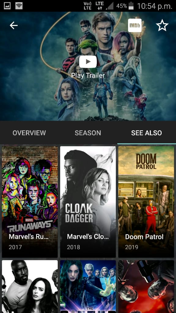CyberFlix TV APK Feature