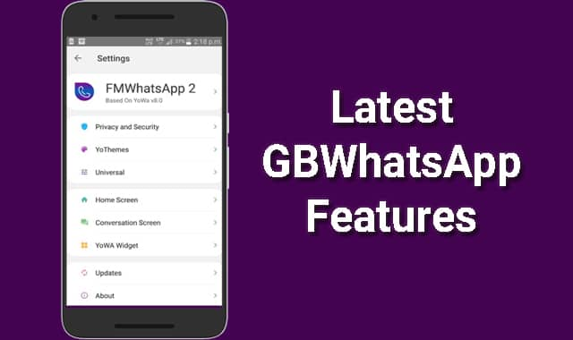 GBWhatsApp New Features