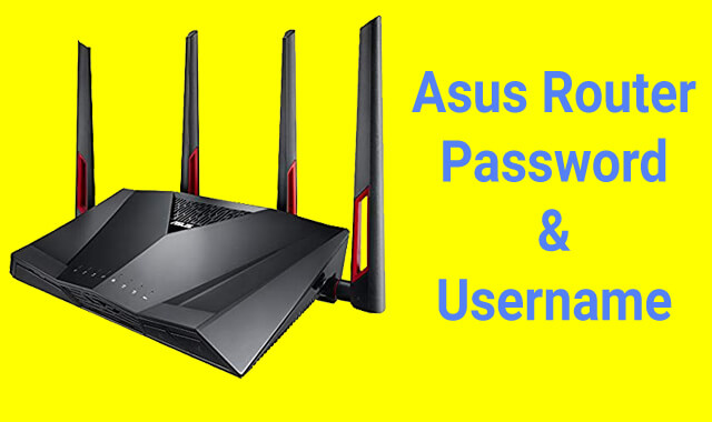 Asus Router Default Password