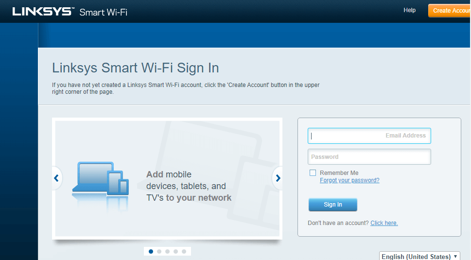 Linksys Router Login Instruction