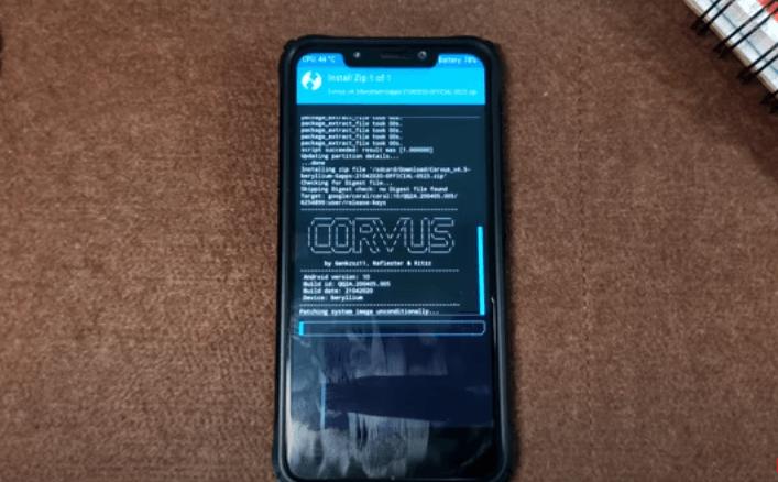 Corvus ROM Installation