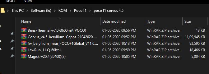 Corvus 4.5 rom files